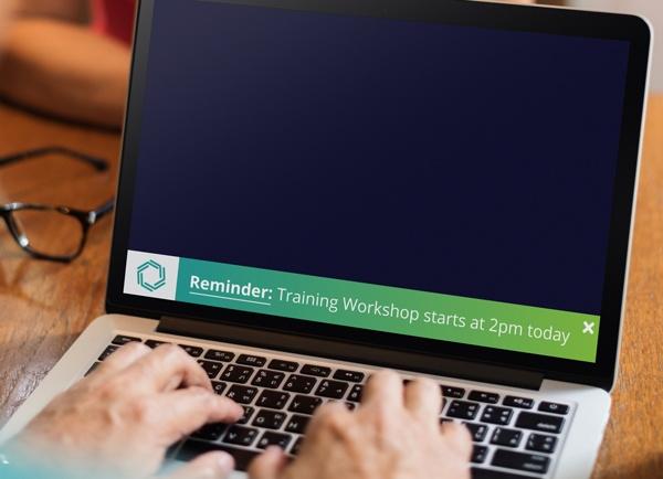 Ticker Example Workshop Reminder