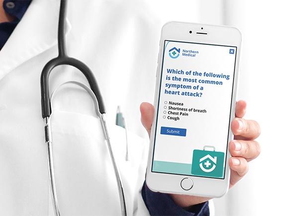 Staff Quiz regarding heart attack symptoms