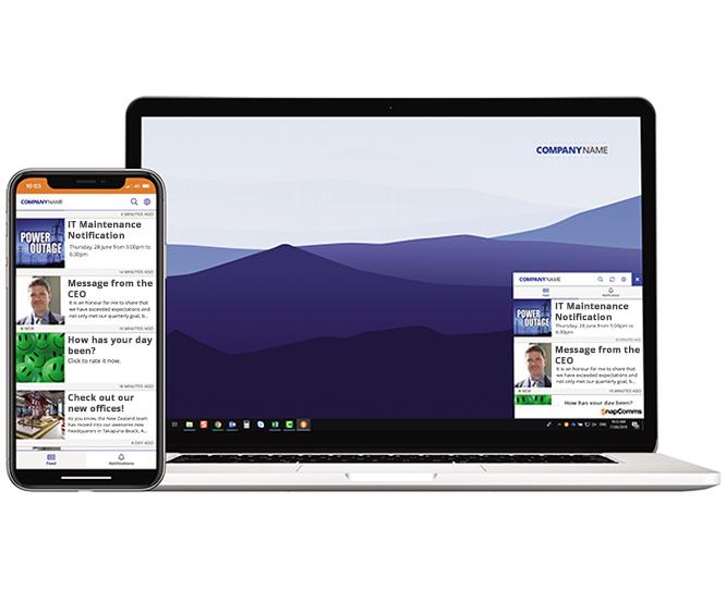 snapcomms employee app