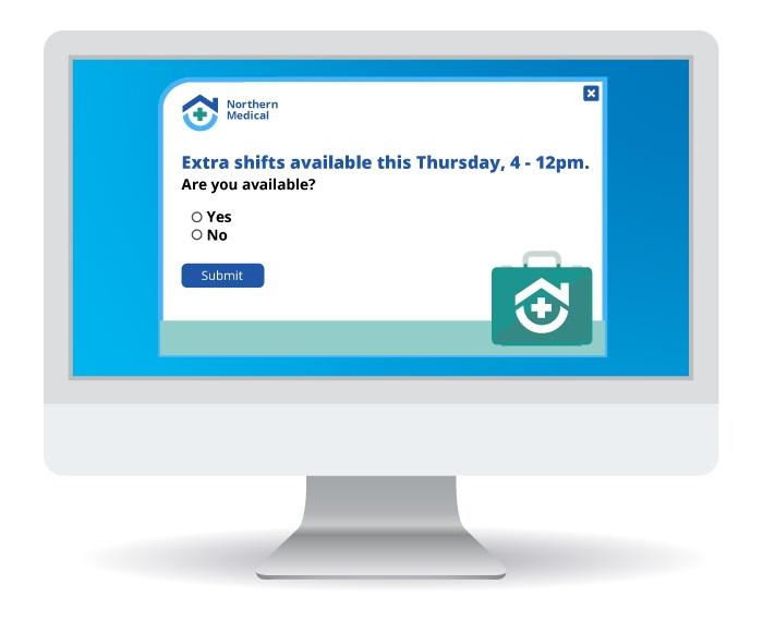 Registration Alert for Upcoming shifts