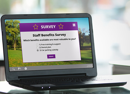 employee survey about benefits
