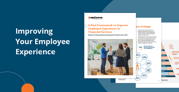 Employee experience in financial services