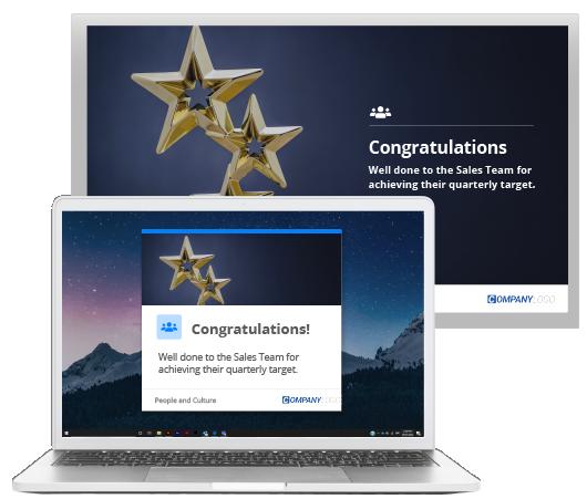 sales team award screensavers