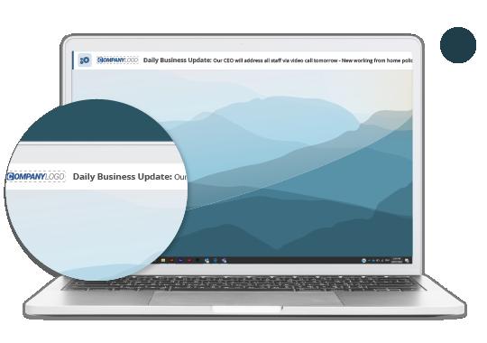 Desktop ticker update